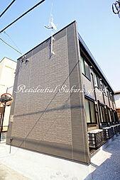 神奈川県藤沢市本鵠沼1丁目の賃貸アパートの外観