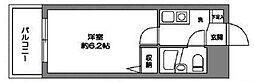 東京都世田谷区上北沢5丁目の賃貸マンションの間取り