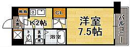Casa de Taishokan il mare[6階]の間取り