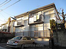 東京都町田市金森東4丁目の賃貸アパートの外観