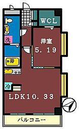 ダイワティアラ村上3・5[3-305号室]の間取り