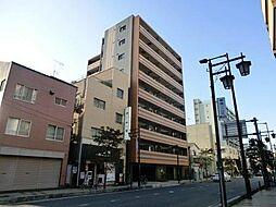 埼玉県蕨市中央3丁目の賃貸マンションの外観