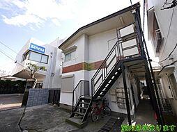 東京都新宿区四谷1丁目の賃貸アパートの外観