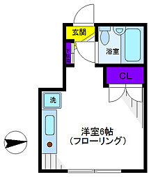 メゾン・ジュネス[2階]の間取り