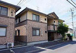 静岡県沼津市下香貫下障子の賃貸アパートの外観