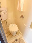 トイレもキレイに清掃が入っております。