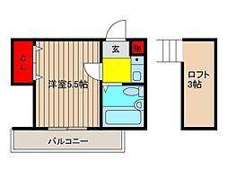 いずみ[2階]の間取り