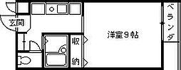 エトール夙川8[2階]の間取り