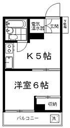 石山ビル[3階]の間取り