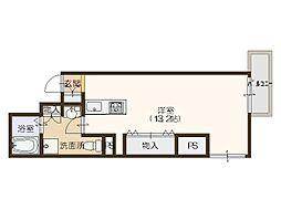 プロシード北堀江[14階]の間取り