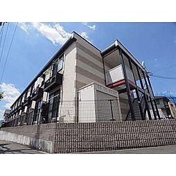 奈良県香芝市西真美の賃貸アパートの外観
