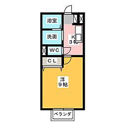 パークハウスヴェルデ A[1階]の間取り