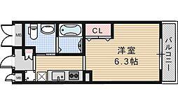 スカーラ昭和[702号室]の間取り