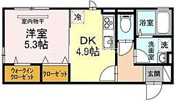 あかり[2階]の間取り