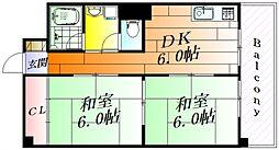 ミタカハイツ[3階]の間取り