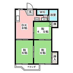 陸前山王駅 4.5万円