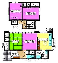 [一戸建] 福岡県福岡市南区屋形原3丁目 の賃貸【/】の間取り