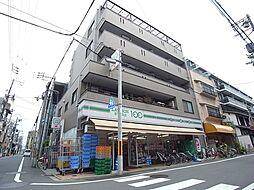 京都府京都市中京区槌屋町の賃貸マンションの外観