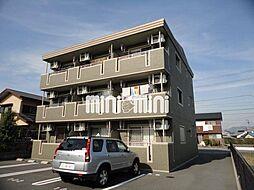 静岡県焼津市三右衛門新田の賃貸マンションの外観