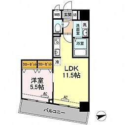 BLESS志村坂上[2階]の間取り