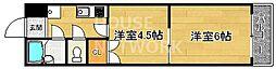 スプレール田中[102号室号室]の間取り
