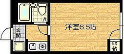 ジョイス千林 5階1Kの間取り