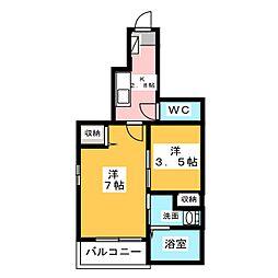 Neo Casa[1階]の間取り