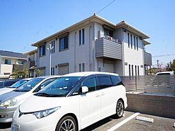 兵庫県伊丹市東有岡5丁目の賃貸アパートの外観