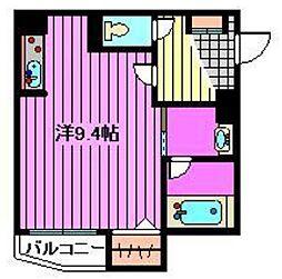 埼玉県さいたま市北区土呂町2丁目の賃貸マンションの間取り