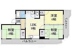 高畑駅 5.9万円