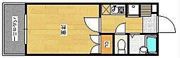 パレスJJ[5階]の間取り