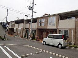 大阪府松原市立部2丁目の賃貸アパートの外観
