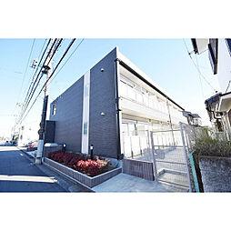埼玉県川越市仙波町4丁目の賃貸アパートの外観