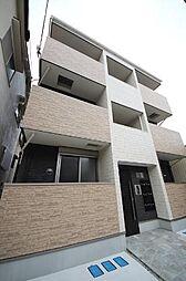 兵庫県尼崎市東本町3丁目の賃貸アパートの外観
