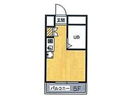 ミヨシ高幡ビル[5階]の間取り