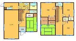 [タウンハウス] 兵庫県姫路市城見台3丁目 の賃貸【/】の間取り