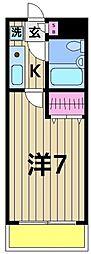 ジョイフル堀切菖蒲園[102号室]の間取り