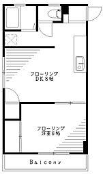 坂上屋ビル[403号室]の間取り