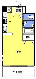 ウィンディー・ヒル[402号室号室]の間取り