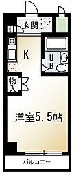 ライズイングサン朝霞台[3階]の間取り