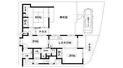[一戸建] 兵庫県西宮市松生町 の賃貸【/】の間取り