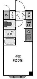 松戸YKマンションII[2階]の間取り