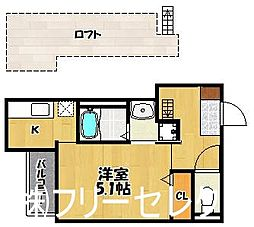 Village東光寺[2階]の間取り