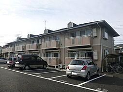 東京都立川市砂川町5丁目の賃貸アパートの外観