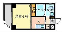 旦過タカヤコーポレーションビル[701号室]の間取り