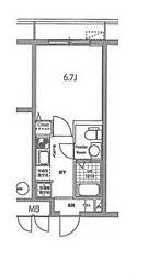 シンシティー板橋大山[4階]の間取り