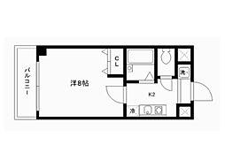 シェークル21[2階]の間取り