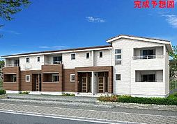 愛媛県松山市南高井町の賃貸アパートの外観