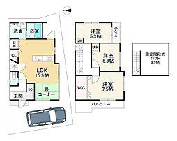 長岡京駅 2,580万円