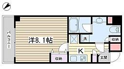 レアライズ田端[102号室]の間取り